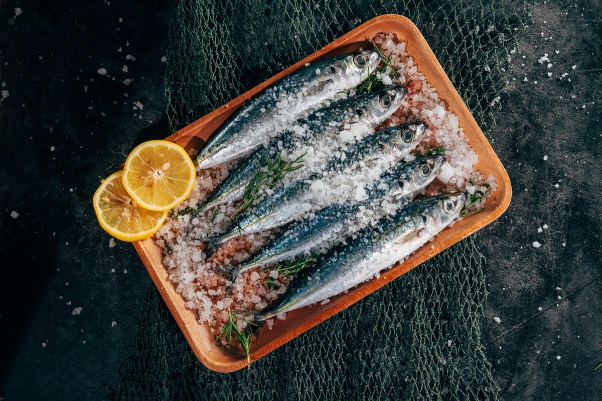 Assiette de sardines